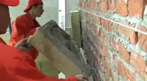 Крепление минераловатных плит на стену