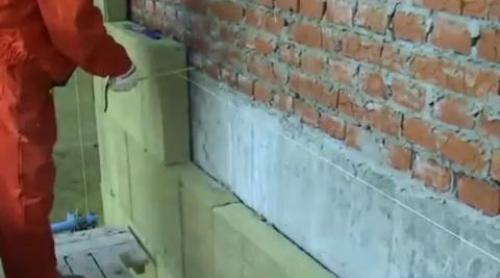 Утепление стен снаружи минватой