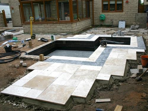 Строительство водоема во дворе