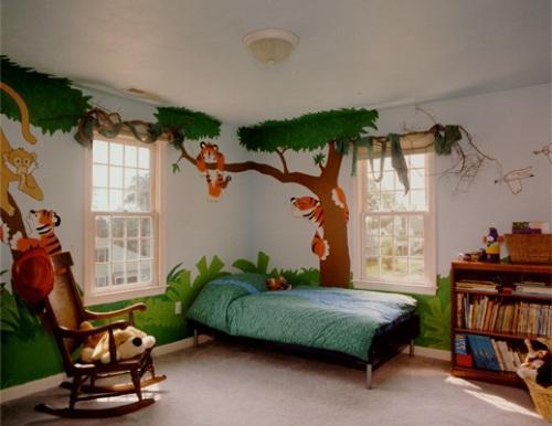 Декор детской комнаты своими руками. Фото 11