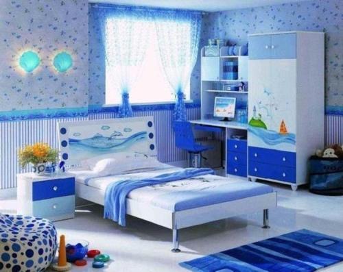Декор детской комнаты своими руками. Фото