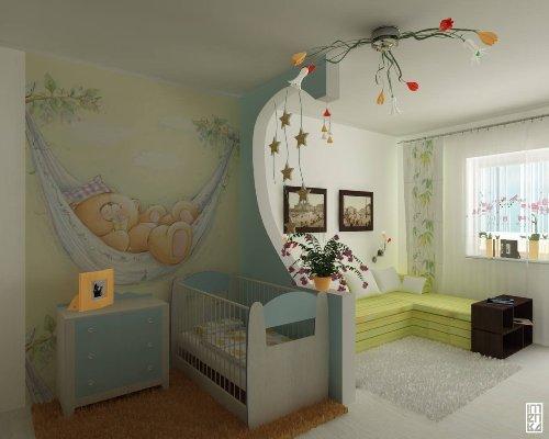 Декор детской комнаты своими руками. Фото 9
