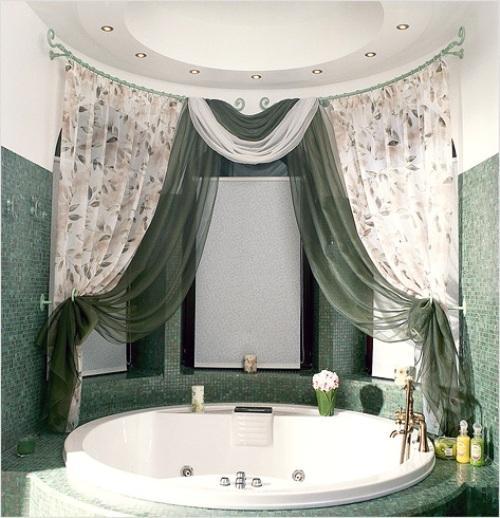 Декор ванной комнаты. Фото