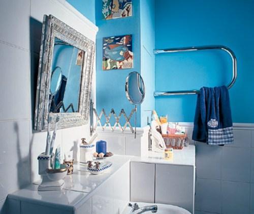 Декор ванной комнаты. Фото 4