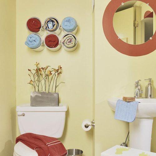 Декор ванной комнаты. Фото 7