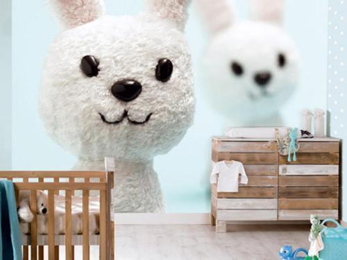 Обои в дизайне детской комнаты