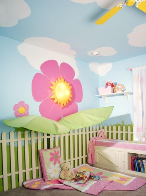 Обои в дизайне детской комнаты. Фото 4