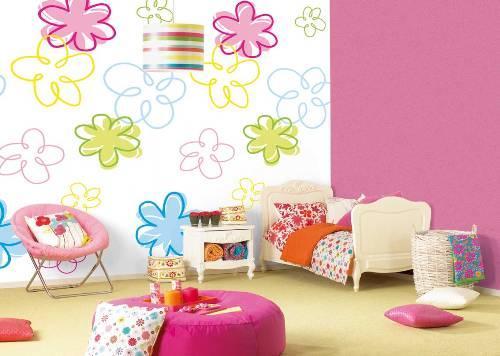 Дизайн детской комнаты. Обои