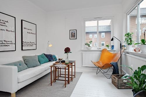 Дизайн двухкомнатной квартиры. Фото