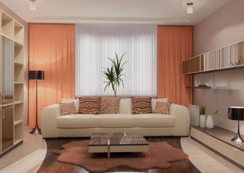 Дизайн интерьера маленькой гостиной. Фото 10