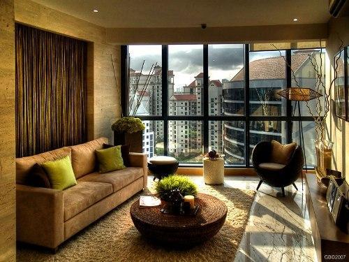 Дизайн интерьера маленькой гостиной. Фото 12