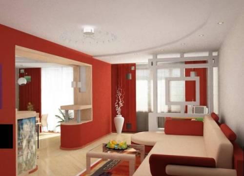 Визуальное увеличение пространства комнаты