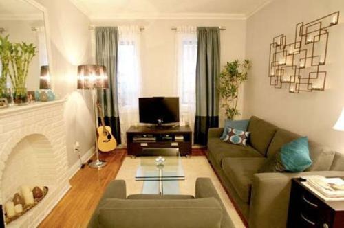 Дизайн интерьера маленькой гостиной. Фото 9