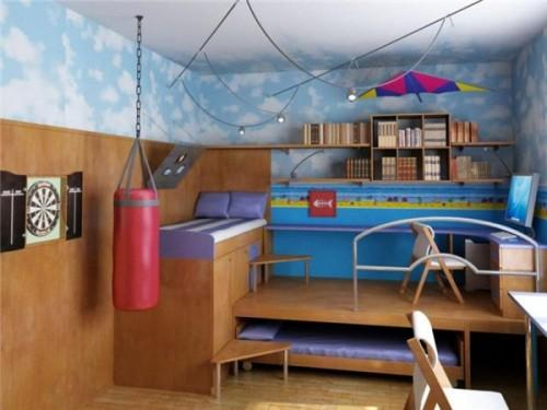 Дизайн маленькой детской комнаты. Фото 4