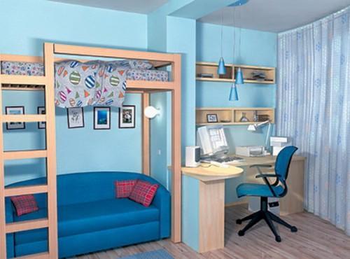 Дизайн маленькой детской комнаты. Фото 5