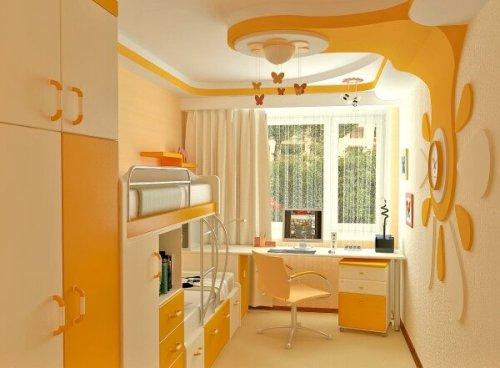 Дизайн маленькой детской комнаты. Фото 6