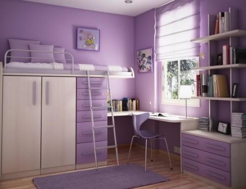 Дизайн маленькой детской комнаты. Фото 7