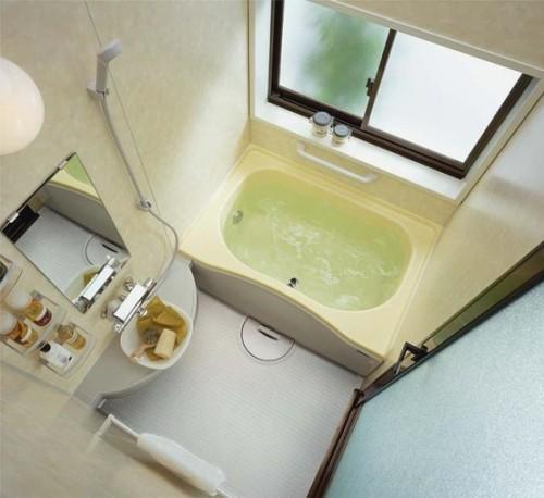Дизайн маленькой ванной комнаты. Фото 8