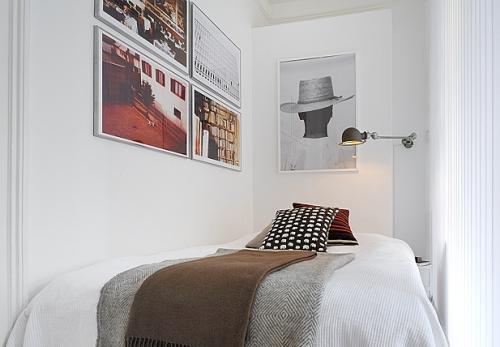 Дизайн однокомнатной квартиры. Спальня