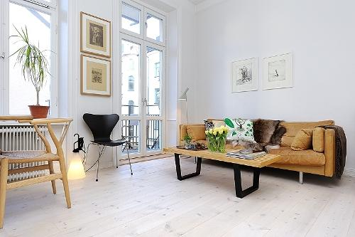 Дизайн однокомнатной квартиры. Фото