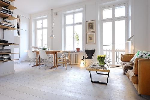 Дизайн однокомнатной квартиры. Многофункциональное пространство