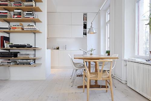 Дизайн однокомнатной квартиры. Столовая зона