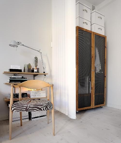 Дизайн однокомнатной квартиры. Рабочая зона