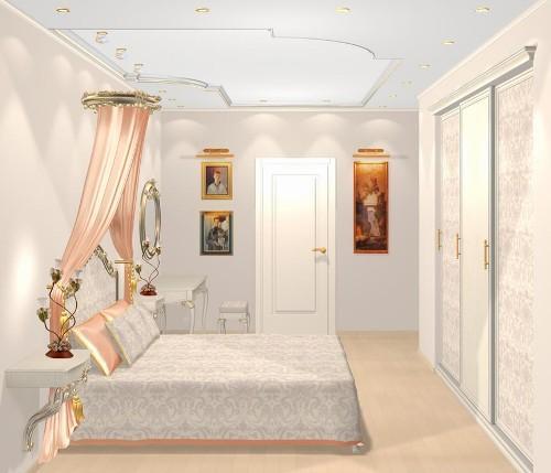 Каким должен быть дизайн потолков в спальне?