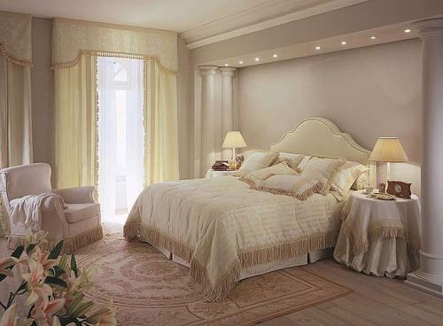 Дизайн спальни в классическом стиле. Фото 10