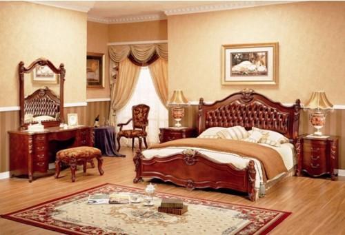 Дизайн спальни в классическом стиле. Фото 4