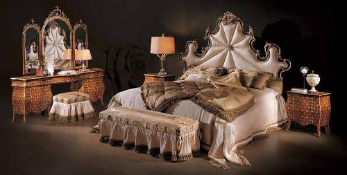 Дизайн спальни в классическом стиле. Фото 5