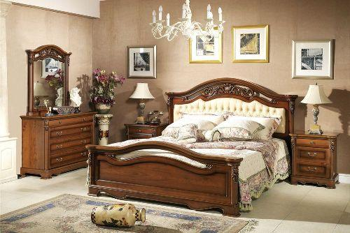 Дизайн спальни в классическом стиле. Фото 6