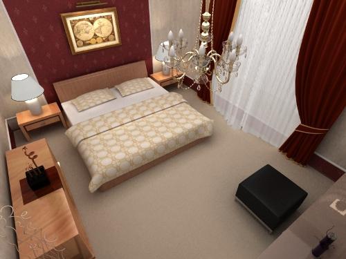 Дизайн спальни в классическом стиле. Фото 8