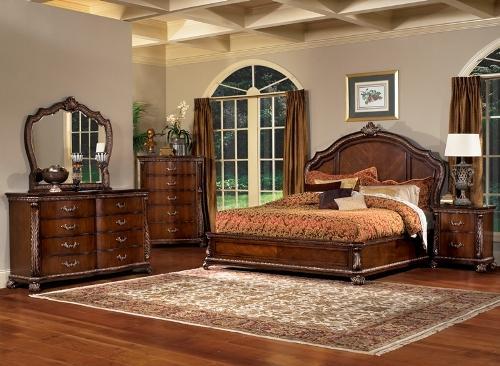 Дизайн спальни в классическом стиле. Фото 9