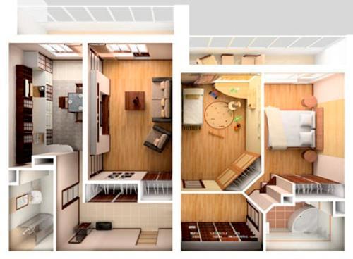Как спланировать дизайн трехкомнатной квартиры?