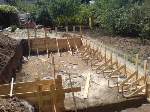 Фундамент для дома из соломы