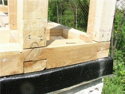Гидроизоляция под деревянный каркас