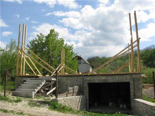 Строительство каркаса дома из соломы