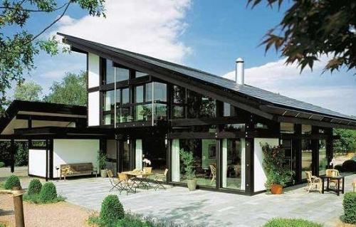 Дома в стиле фахверк. Фото