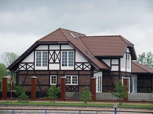 Дома в стиле фахверк. Фото 8