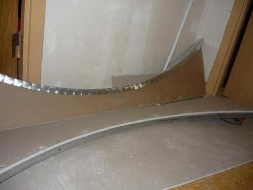 Дверная арка своими руками из гипсокартона