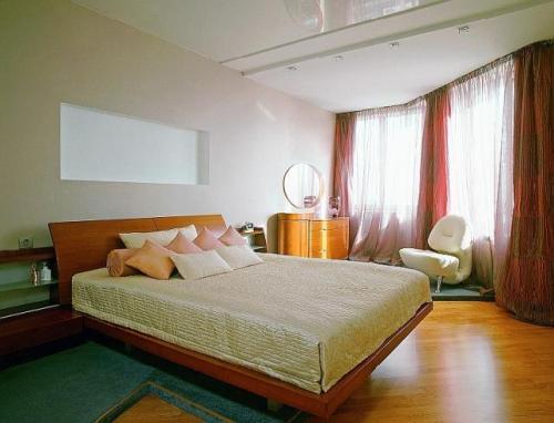 Расположение спальни по фен-шуй