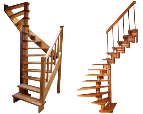 Готовые лестницы на второй этаж