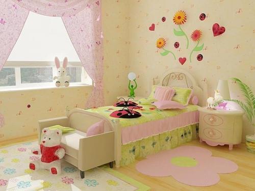Интерьер детской комнаты для девочки. Фото 10