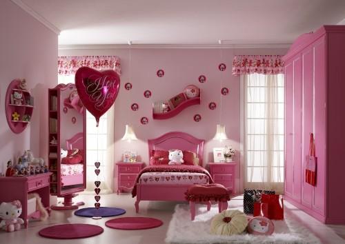 Интерьер детской комнаты для девочки. Фото 13