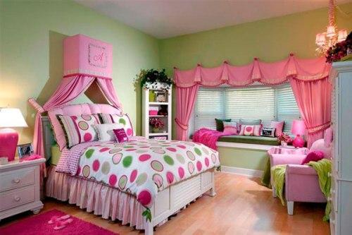 Интерьер детской комнаты для девочки. Фото 14