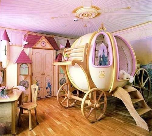 Интерьер детской комнаты для девочки. Фото 3
