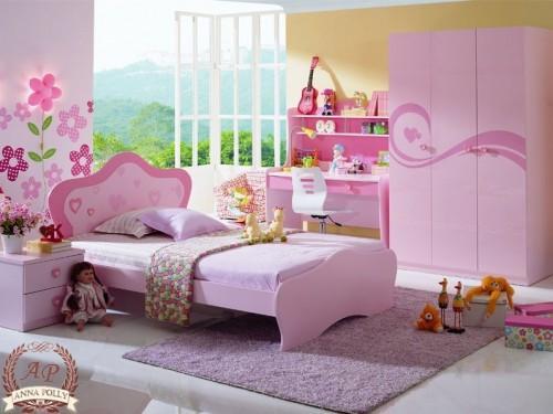 Интерьер детской комнаты для девочки. Фото 4