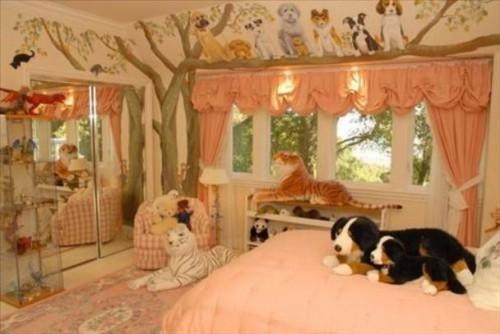 Интерьер детской комнаты для девочки. Фото 5