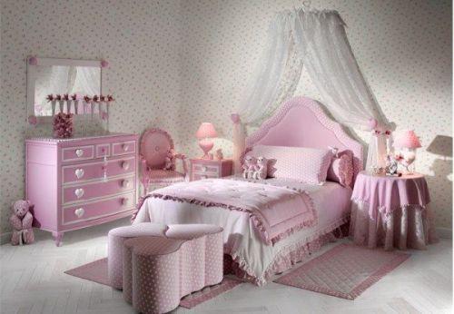 Интерьер детской комнаты для девочки. Фото 7